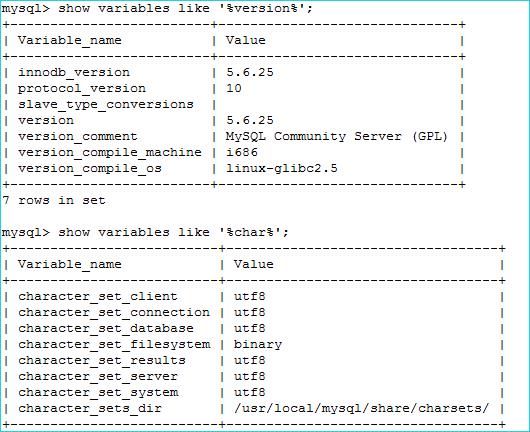 MySQL版本情况
