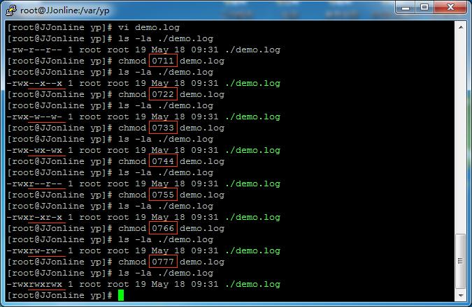 chmod命令数字的含义归纳